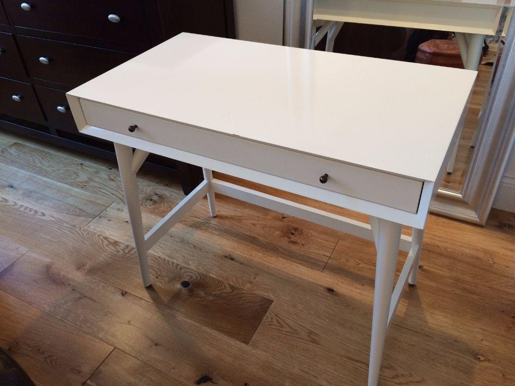 West Elm Mid Century Mini Desk White