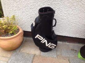 golf bag ping callaway titelist nike taylor made