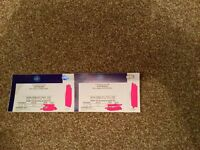 2 x Iron Maiden tickets Wembley 28th May 2017 block 111. TICKETS IN HAND