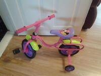 Girls Minnie Mouse Bowtique bike