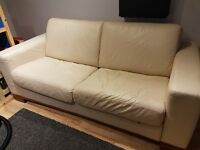 Leather sofa bed - Free