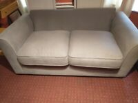 Pretty good ones 2 seat sofa, 3 seat sofa bed, disable coffe table