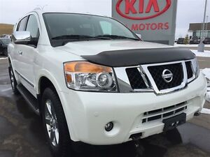 2014 Nissan Armada Platinum HEAD REST DVD'S