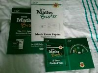 Maths buster foundation revision guide with cd