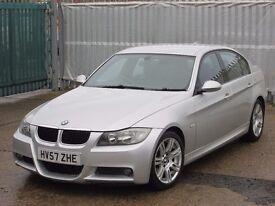 2007 (57 reg), BMW 3 Series 2.0 320d M Sport 4dr