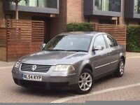 2005 VW PASSAT 1.9 TDI HIGHLINE MODEL BLACK LEATHER INTERIOR HEATED SEATS HPI CLEAR NEW CAMBELT 144K