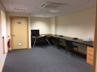 Office Space with Parking, Own Kitchen & Toilet, Shared Reception & Easy Access to the Motorway