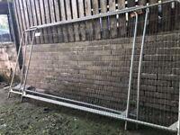 Heras Fencing panels (x6)