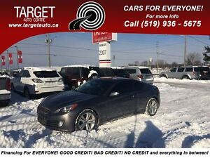 2010 Hyundai Genesis Coupe 3.8; Loaded; Leather, Navi, One Owner