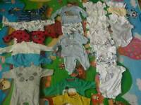Baby boys new born clothes bundle
