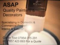 ASAP painters & decorators, Painting & decorating service