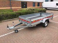 """Tema PRO Trailer 1 Axle 8ft 6"""" x 4ft 1"""" - 263cm x 125cm 750kg"""