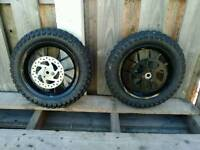 Mini moto wheels