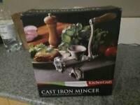 Cast Iron Mincer