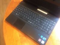 Sony Vaio Laptop (Intel Core i3+ 4 GB + 500 GB+ Blu Ray Drive+ Built in webcam+ Windows 7)