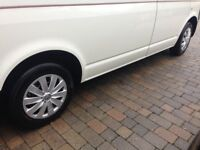 VW T5 2008 Steel wheels /tyres /trims