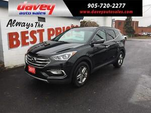 2017 Hyundai Santa Fe Sport 2.4 Premium LEATHER INTERIOR, SUN...