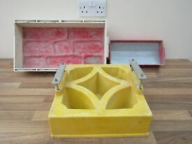 3 Concrete Block Wall Maker - Brick Mould