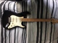 Fender Squier Standard Stratocaster.
