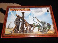 warhammer metal goblin rock lobber new in box