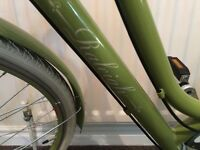 Nearly perfect ladies Raleigh Cameo green 2016 bike