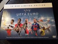 UEFA Euro 50 classic matches dvd