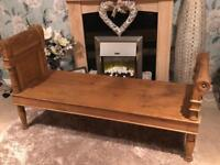 Antique softwood Daybed