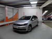 Volkswagen Touran SE FAMILY TDI BLUEMOTION TECHNOLOGY DSG (silver) 2016-06-07