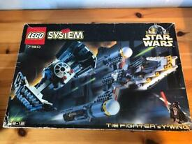 Lego Star Wars 7150 Tie Fighter & Y-Wing, Complete