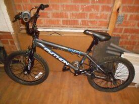 BMX Python Fury Moto X boys bike used but satisfactory condition