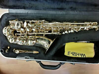 Earlham Professional Series II Alto Saxophone+ case, Excellent Condition