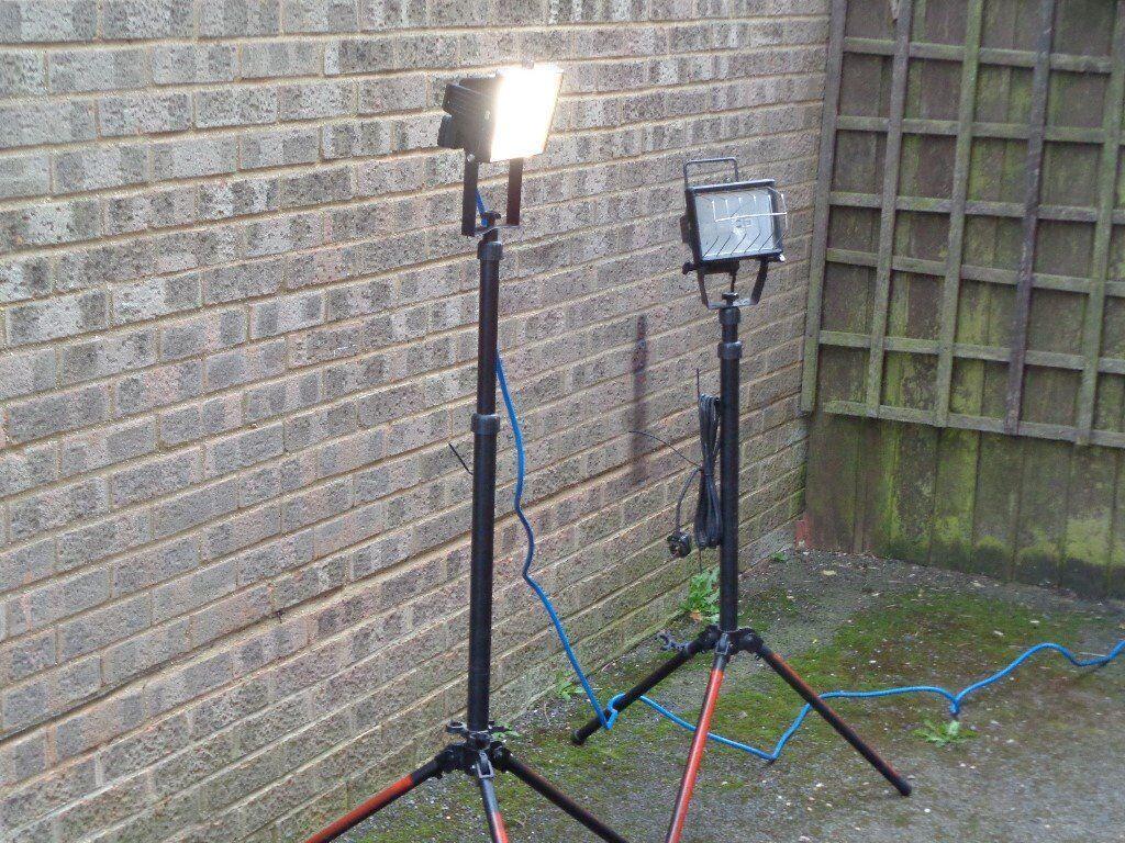 lights on stand.x 2