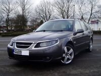 2009 Saab 9-5 Turbo Edition Estate 1.9Tid. Cambelt done. Extensive Service History. Mot Sept Leather