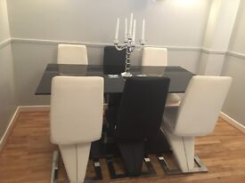 Dining Table & Six Chairs £400, Coffee Table £50