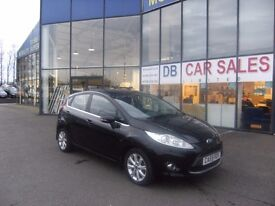 2010 59 FORD FIESTA 1.2 ZETEC 5D 81 BHP***GUARANTEED FINANCE***PART EX WELCOME***