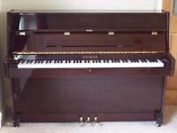 STEINBACH MODEL UP108D-1 UPRIGHT PIANO MAHOGANY LACQUER FINISH