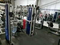 Gym equipment(Commercial Grade) In Excellent Working Condition.