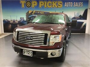 2010 Ford F-150 XLT XTR, CREW CAB, 4X4, POWER SEAT, 18 WHEELS!