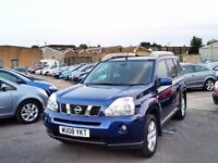 2008 Nissan X-Trail Sports 2.0 AUTO DIESEL 4WD 4x4 Low Miles Estate SUV WARRANTY