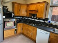 Complete Used Fitted Kitchen with Second Hand Appliances Included