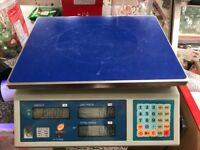 Commercial Weighing Scales- for meats etc