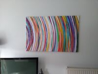 2 X Stunning canvas wall art 5ft by 3ft £40 each