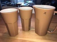 Giant Mugs with Jar