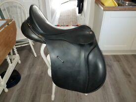"17.5"" Bates GP Saddle, Fully Adjustable"