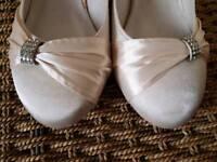 Size 7 bridal shoes