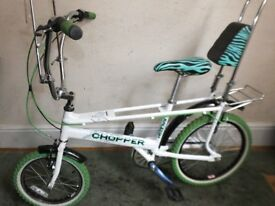 RALEIGH CHOPPER - LIMITED EDITION - NEON (CUSTOM REBUILT BIKE) READY TO RIDE!