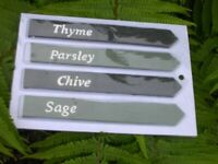 Herb Garden Stakes (BRAND NEW)