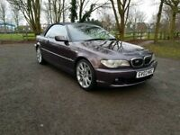 BMW 330 CI M Sport 2003 Rare Colour 3 Series Convertible Low Miles