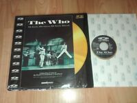 the who - rare cd video laserdisc - who's better who's best