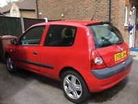 Red Renault for sale 3 door 1.2 petrol, reliable little car